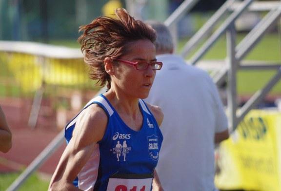 Giovanna Ricotta seconda alla Maratonina del Parco del delta del Po