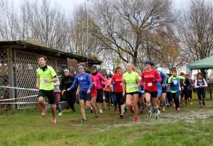 partenza gara femminile Ostellato