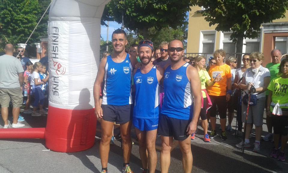 Un podio tutto Salcus a Villamarzana