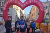 Stefania e Filippo alla maratona di San Valentino a Terni
